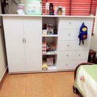 Tủ nhựa Đài Loan cho bé bên đẹp, màu sắc tươi sáng