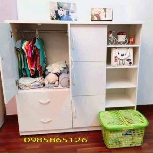 Tủ nhựa Đài Loan cho bé cao cấp, bền đẹp