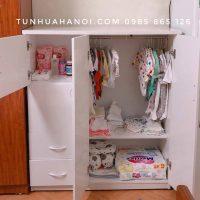 Tủ nhựa Đài Loan cho bé - C011