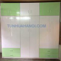 Tủ nhựa Đài Loan 6 cánh cao cấp