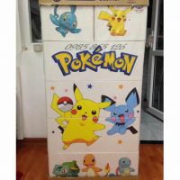 tủ nhựa việt nhật lucky 5 tầng 6 ngăn pokemon
