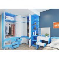 Nội thất nhựa Đài Loan giường, tủ quần áo kệ, bàn trang điểm