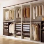 4 kiểu tủ quần áo tiết kiệm không gian tối đa cho nhà nhỏ.