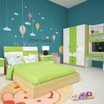 Thiết kế nội thất thông minh cho bé vào cấp 2.