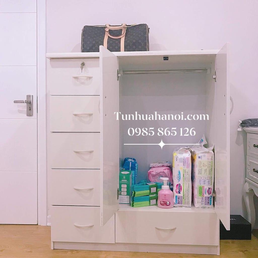 Tủ nhựa Đài Loan cho bé C018