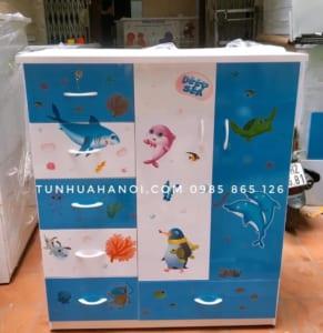 Tủ nhựa Đài Loan C018