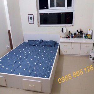 Giường nhựa Đài Loan cao cấp tiện dụng