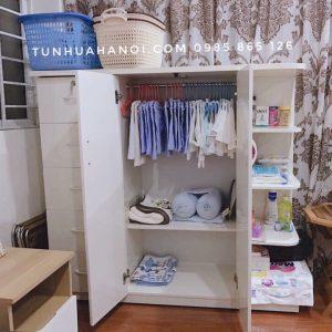 Tủ nhựa Đài Loan cho bé cao cấp, giá rẻ