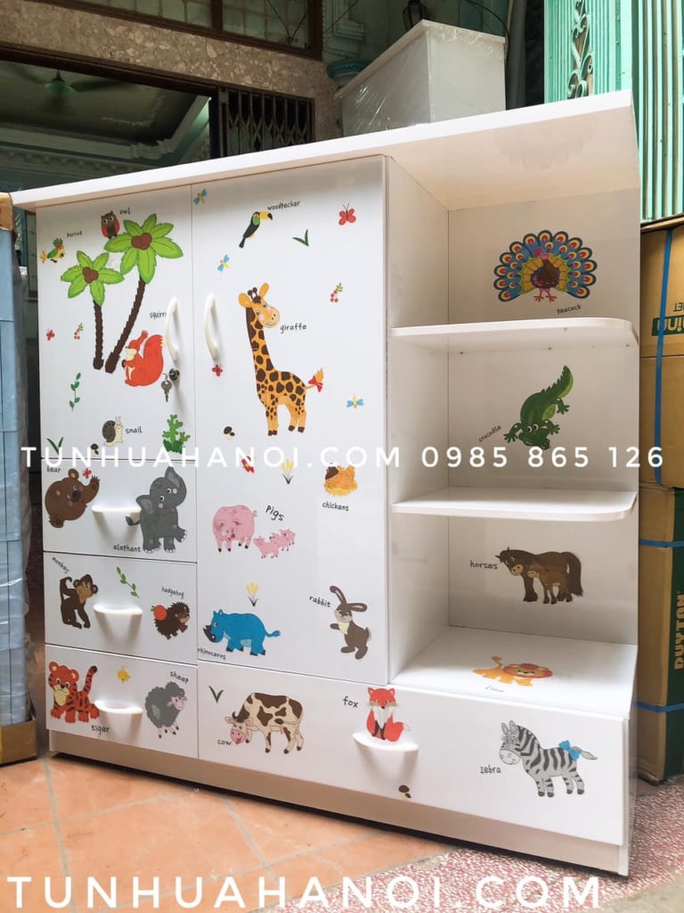 Tủ nhựa Đài Loan C125K