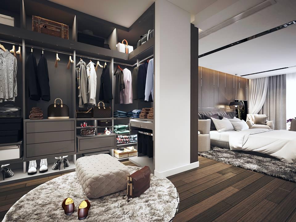 Phòng ngủ master - Không gian sống chính của ngôi nhà ...