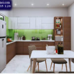 Gợi ý lựa chọn màu sắc tủ bếp đầy phong cách