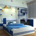 Nội thất nhựa thông minh cho phòng ngủ nhỏ