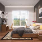 Phòng ngủ phong thủy tốt giúp luôn tràn đầy năng lượng.