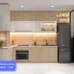 Tủ bếp nhựa đài loan cao cấp – Phong cách nội thất mới cho không gian nhà bếp