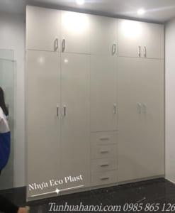 tủ nhựa đài loan eco plast 10 cánh 4 ngăn