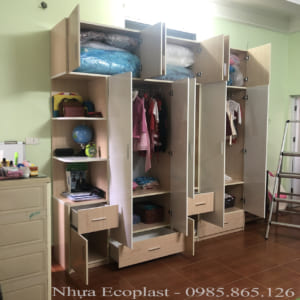 tủ đựng quần áo gia đình giá rẻ