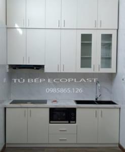 tủ bếp nhựa Ecoplast tại ngã tư sở