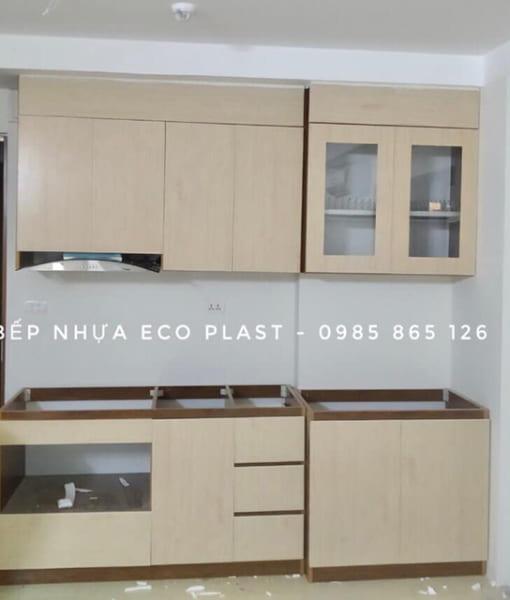 tủ bếp nhựa cao cấp ecoplast
