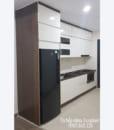 tủ bếp chung cư bằng nhựa