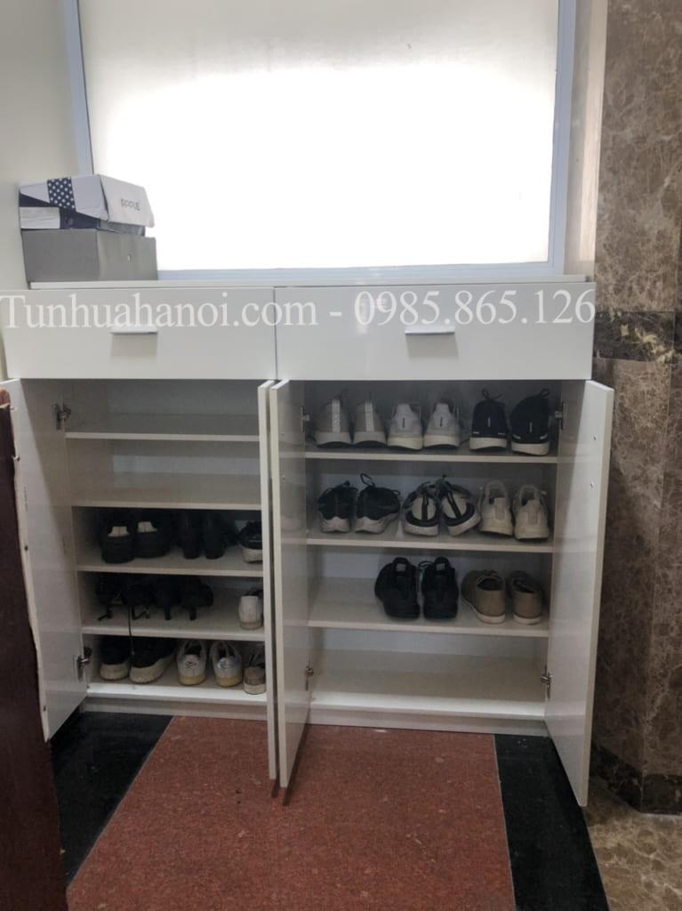 tủ đựng giày nhựa 2 ngăn
