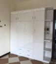 tủ đựng quần áo nhựa 4 cánh kệ trang trí
